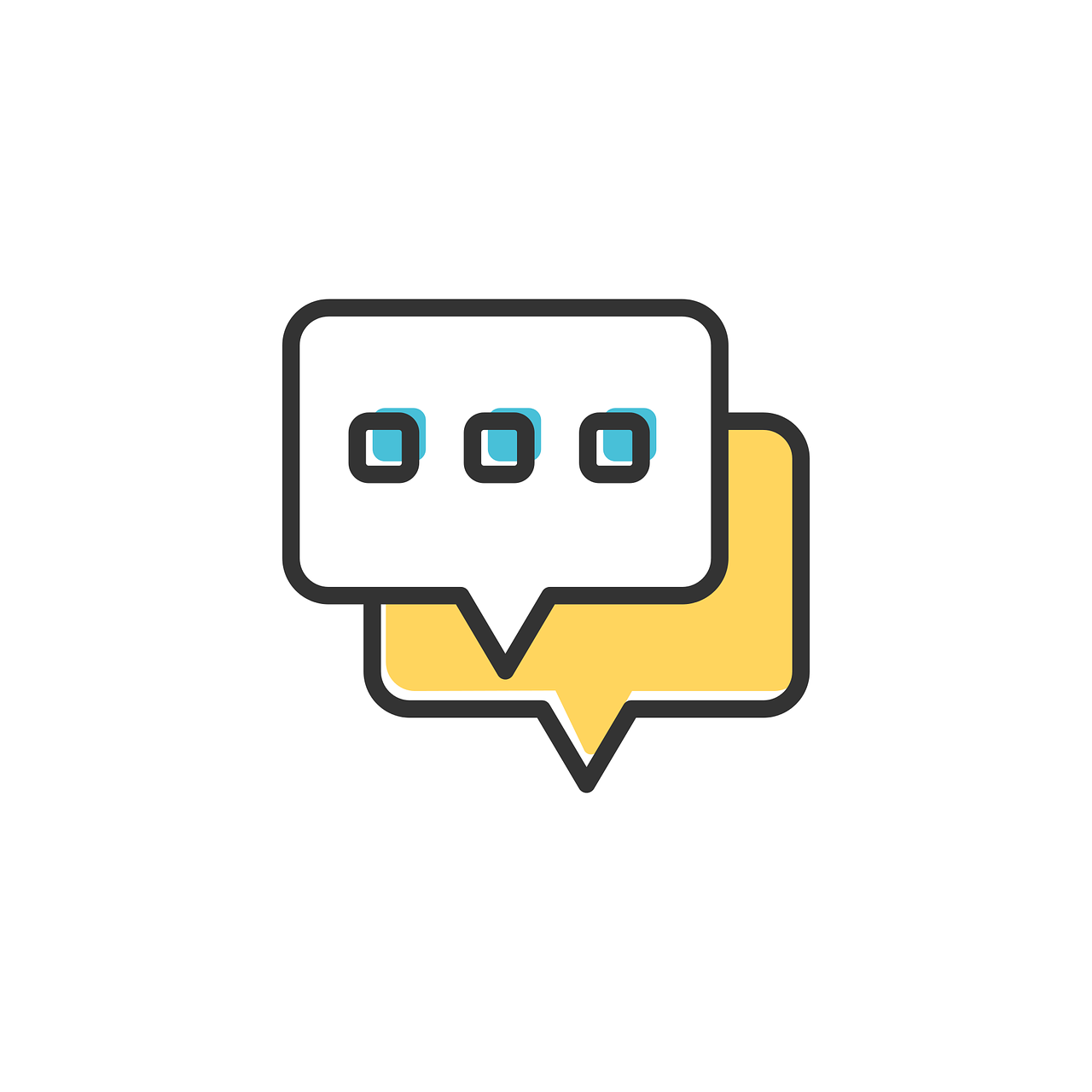 chat, icon, social
